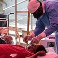 インドでは感染者が急増し医療が崩壊状態に(EPA=時事)