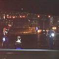 高速道路走行中の車から落ち男性死亡 「同乗者が飛び降りた」