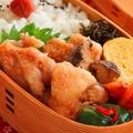 大さじ1の油でOK!簡単「揚げない唐揚げ」のお弁当  by :料理研究家 かめ代さん