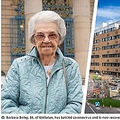 感染から見事回復した86歳女性(画像は『Nottinghamshire Live 2020年3月27日付「Woman, 86, who battled coronavirus with 'fighting spirit' now recovering at Queen's Medical Centre」(Image: Family of Barbara Briley / Ian Hodgkinson Picture It)』のスクリーンショット)