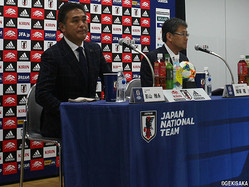U-20日本代表の影山雅永監督、関塚隆技術委員長