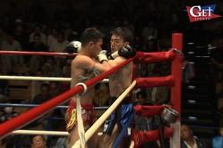 """キックボクシング・江幡睦、""""歴史を創る""""壮絶な死闘。タイ国外に不出…ムエタイのベルトへの挑戦"""