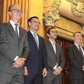 バルサの取締役6人が辞任