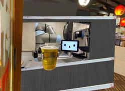 養老乃瀧がロボット酒場開店、池袋で「ゼロ軒めロボ酒場」