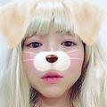 犬に変身したイモトアヤコさん(画像は竹内さん公式インスタグラムのスクリーンショット)