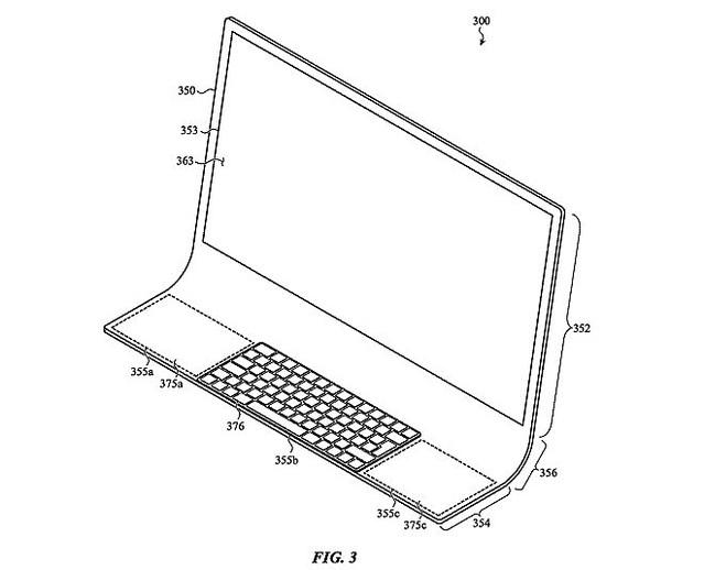 1枚のガラス板でできたiMac開発?アップルが特許を申請