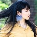 衣類よりも花粉が付着するリスクがある「髪」