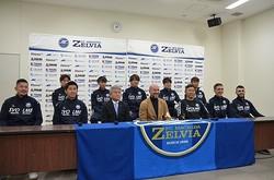 ポポヴィッチ新監督を迎えた町田が、新体制会見を行なった。写真●郡司聡