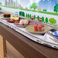 回転寿司のコンベアではトップシェアを誇る石川県白山市、北日本カコー株式会社の製造する「特急レーン」(同社提供写真)