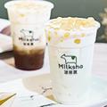台湾発「ミルクシャ」がこの秋、日本初上陸!濃厚ミルクを使った真っ白いタピオカが青山通りにお目見え♡