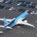 欠陥機疑惑で修理待ちの「ボーイング737 MAX 8」が駐車場に集結