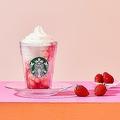 スターバックス ストロベリー フラペチーノ/画像提供:スターバックス コーヒー ジャパン