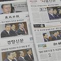 文氏が警告 韓国紙「決戦宣言」