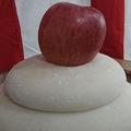 リンゴがドーン!(Manato.Nさんのツイートより)