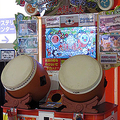 アーケードゲーム版「太鼓の達人」(ナムコ)の筐体(小石川人晃/Wikimedia Commons)