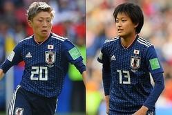 2019年の女子W杯に出場した横山(左)と宝田(右)。写真:早草紀子