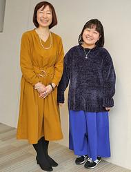 母・ゆきさん(左)も娘の「特別な力」に驚かされた(撮影/浅野剛)