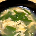 JA全農広報部Twitterに投稿されたニラ卵スープ