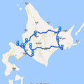 「ゴールデンカムイ」北海道スタンプラリーの距離が半端ない