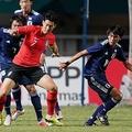 U-21日本代表が銀メダル U-23韓国代表に延長戦の末敗れる