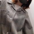 【GUのオープンカラーシャツ】しっかりした質感で上品見え