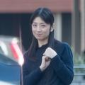 直撃取材でカメラマンに気づいた小倉優子('18年11月)