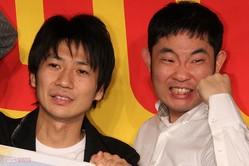元キングオブコメディのふたり(左から高橋健一、今野浩喜)