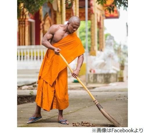 """[画像] """"すごく強そうな僧侶""""が話題に"""