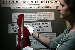 切り裂きジャックが使ったと伝えられているナイフ。(提供:AP/アフロ)