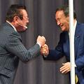菅新総裁�を「スガ!」と呼び捨てできる桜田氏。決起集会でも存在感を発揮したが…