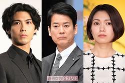 (左から)賀来賢人、唐沢寿明、二階堂ふみ
