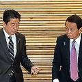 安倍首相が麻生太郎氏と私邸で会談 3時間以上を食事に費やす異例