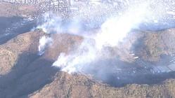 【速報】山火事で40世帯 避難勧告 強風が影響か 栃木・足利市