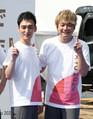 草なぎ剛(左)と香取慎吾