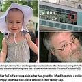 転落死した1歳児と孫を抱き上げた高齢男性(画像は『Metro 2019年7月9日付「Toddler fell to death off cruise ship 'after grandpa lifted her onto open railing thinking there was glass behind it'」(Pictures: Facebook/NBC)』のスクリーンショット)