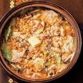 焼きトウモロコシとキャベツのみそバター鍋