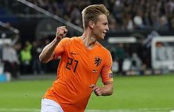 オランダ代表のデ・ヨング photo/Getty Images