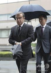 東京地方裁判所に出廷するカルロス・ゴーン被告(2019年6月24日撮影、資料写真)。(c)Kazuhiro NOGI / AFP