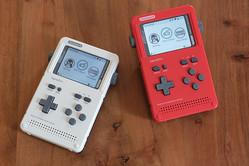 自分で組み立てて遊ぶポータブルゲーム機「ClockworkPi GameShell」