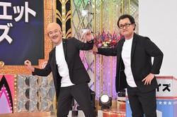 「ものまねグランプリ〜ザ・トーナメント〜」に登場した神奈月と吉田鋼太郎。どっちがご本人か一瞬迷いませんか?/(C)NTV