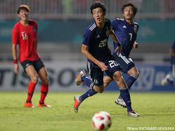 U-21日本代表DF立田悠悟(清水)