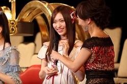NGT48の山口真帆さん。劇場公演で「このたびはたくさんお騒がせしてしまい、まことに申し訳ありません」などと陳謝した(2017年6月撮影)