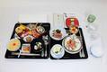 「饗宴の儀」で提供された料理(宮内庁提供)
