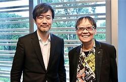 山崎貴総監督と堀井雄二氏