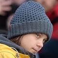 イタリア・トリノで行われた地球温暖化対策を求める運動「フライデーズ・フォー・フューチャー」のデモに参加したスウェーデンの環境活動家グレタ・トゥンベリさん(2019年12月13日撮影)。(c)Filippo MONTEFORTE / AFP