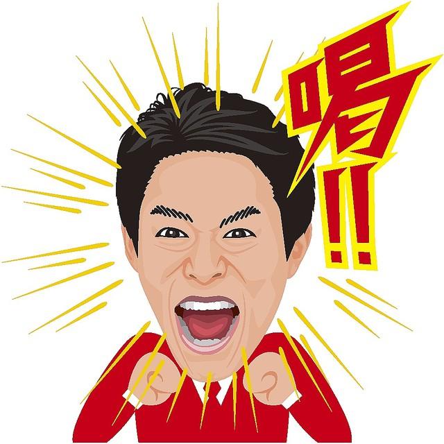 松岡修造のlineスタンプが人気 10日間で250万ダウンロード達成