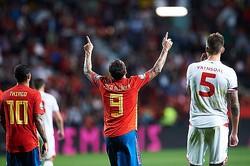 スペイン代表のアルカセル photo/Getty Images