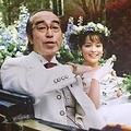 """加藤と志村さんの""""結婚写真""""(インスタグラム=@kato_rosa_から)"""