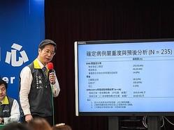 台湾大の張上淳教授=中央感染症指揮センター提供