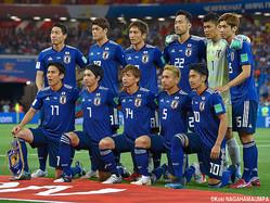 日本代表は55位